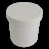 White Plastic Ointment Jars 2 oz.